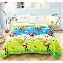 Patura Cocolino pufoasa pentru pat dublu 200 x 230 cm Desene