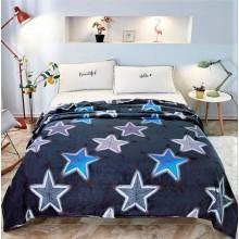 Patura Cocolino pufoasa pentru pat dublu 200 x 230 cm Stele