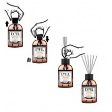 Eyfel parfum de camera 110 ml aroma Scortisoara si cuisoare Odorizant Eyfel cinnamon