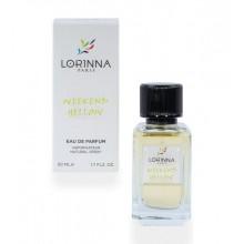 Lorinna Weekend Yellow apa de parfum, 50 ml, de dama inspirat din Burberry Weekend for Women
