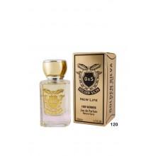 Parfum Golden Silva New Life 120, apa de parfum 50 ml, de dama, inspirat din Mugler Alien