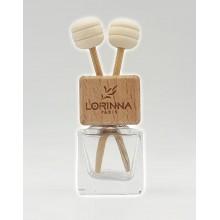 Parfum Odorizant Auto Lorinna difuzare cu betisoare , 8 ml, aroma New Car, Reincarcabil