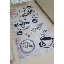 Traversa Bucatarie antiderapanta 80 X 160 cm Coffee Style