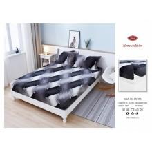 Set Husa de pat Cocolino cu elastic si 2 fete de perna pentru pat dublu 180 x 200 cm NEW