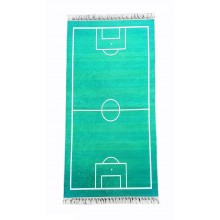 Covor moale tip traversa antiderapanta 80 X 160 cm pentru copii Teren de Fotbal