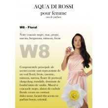Aqua di Rossi W8 apa de parfum, 100 ml, de dama inspirat din Lancome Poeme