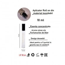 Gloria Perfume Cocaine, 10 ml, ulei de parfum, unisex inspirat din Franck Boclet Cocaine